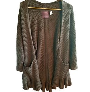 || GUINEVERE || Anthropologie Open Front Cardigan